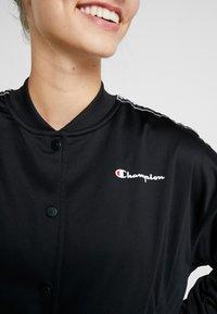 Champion - BOMBER JACKET - Sportovní bunda - black - 6