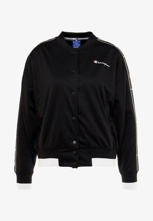 BOMBER JACKET - Sportovní bunda - black