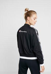 Champion - BOMBER JACKET - Sportovní bunda - black - 2