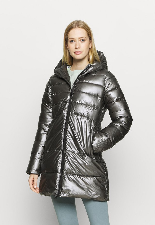 HOODED LEGACY - Sportovní bunda - metallic black