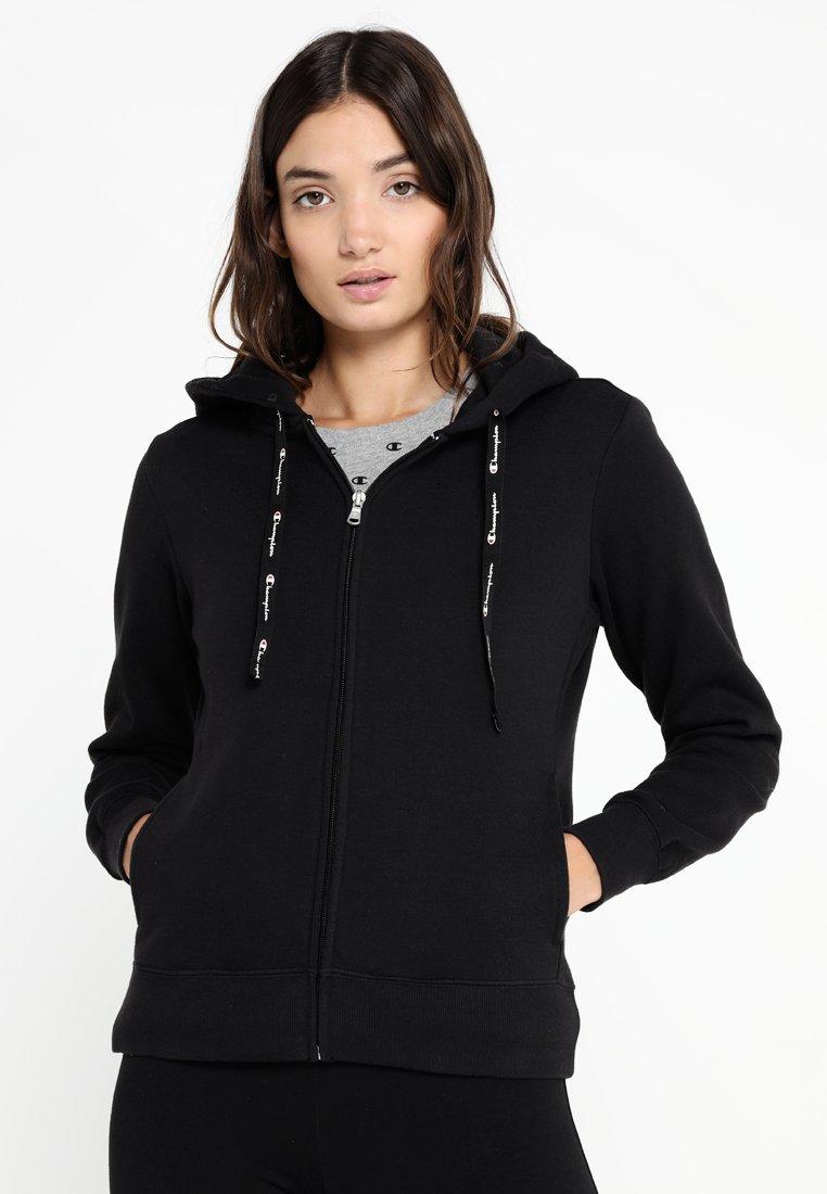Champion - HOODED FULL ZIP - Zip-up hoodie - black
