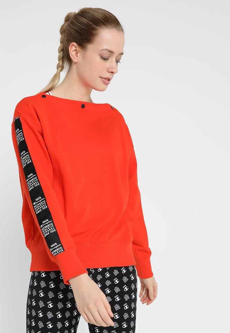 Champion - CREWNECK - Sweatshirt - red