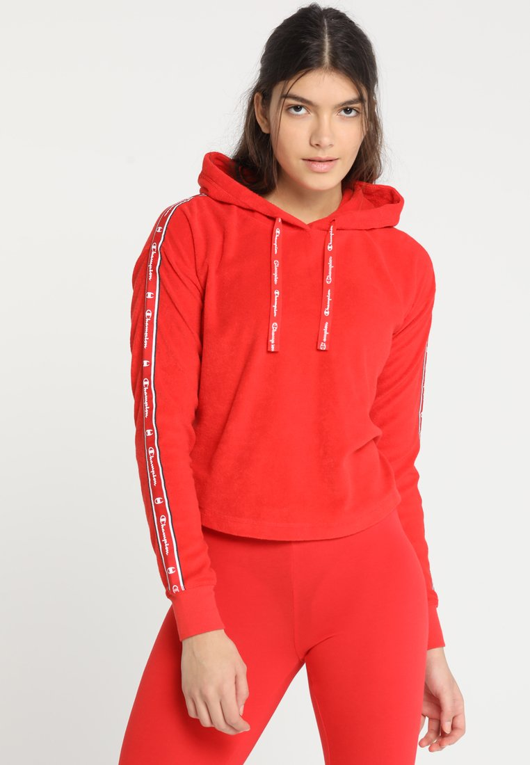 Champion - HOODED - Kapuzenpullover - red