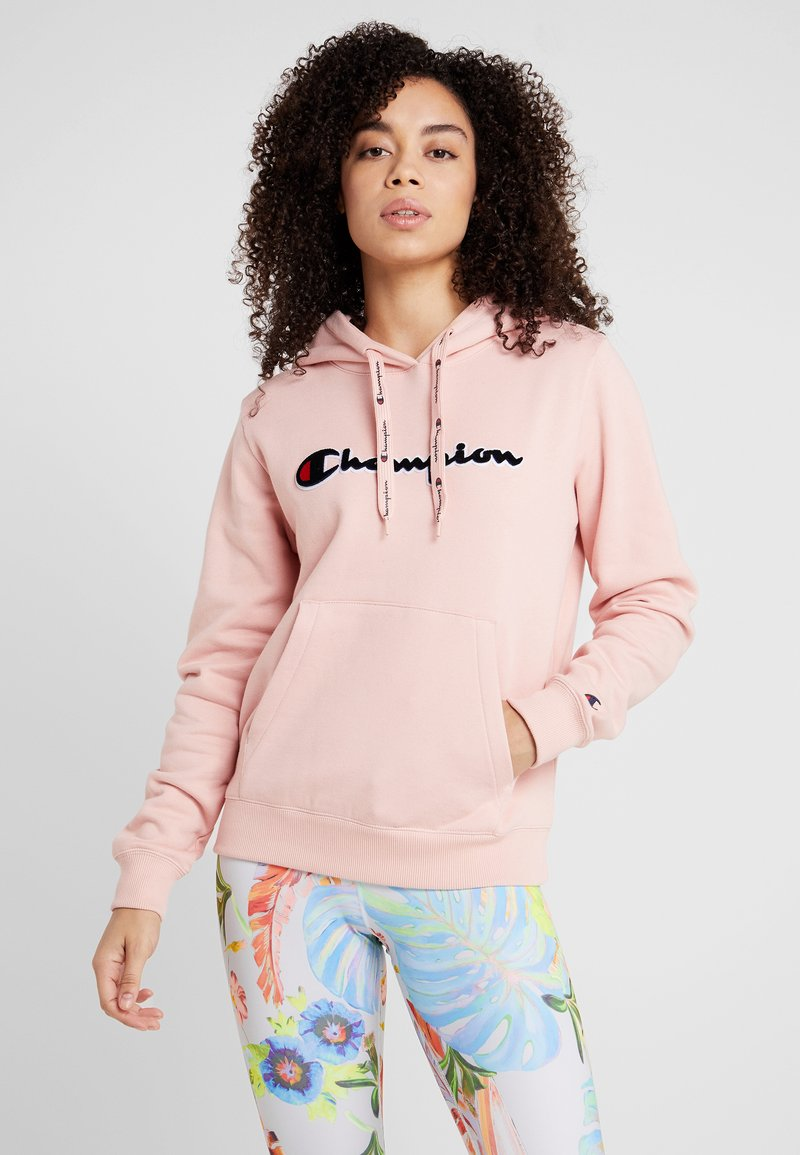 Champion - HOODED  - Jersey con capucha - pink