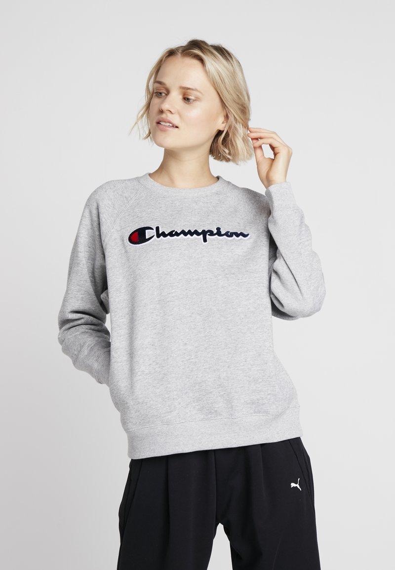 Champion - CREWNECK  - Collegepaita - mottled light grey