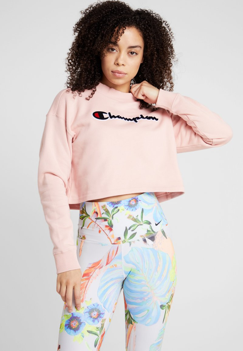 Champion - HIGH NECK - Sweatshirt - pink