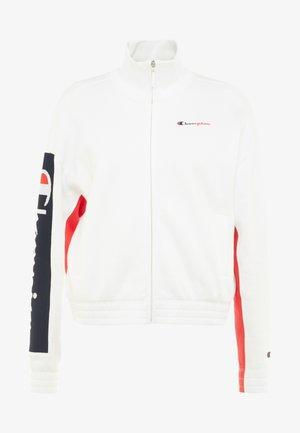 FULL ZIP  - veste en sweat zippée - white