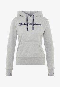 Champion - HOODED  - Luvtröja - mottled light grey - 4