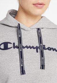 Champion - HOODED  - Luvtröja - mottled light grey - 3