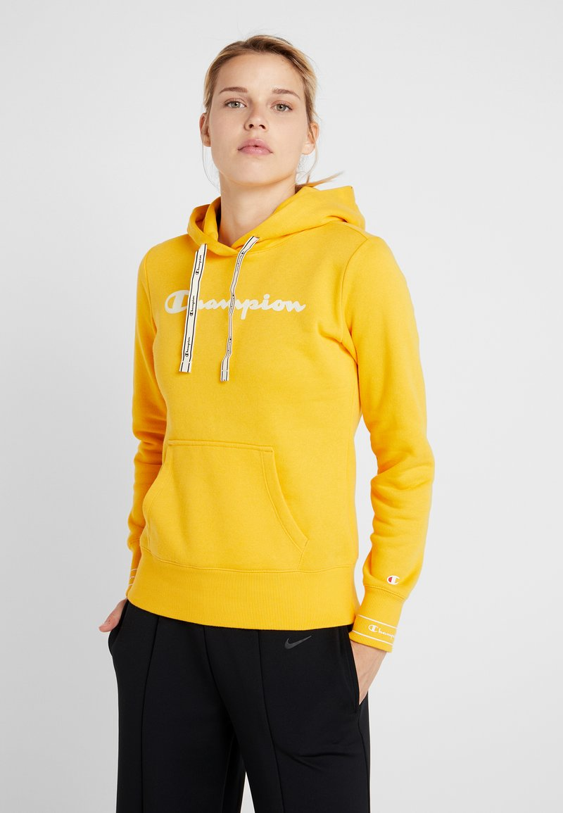 Champion - HOODED  - Huppari - yellow