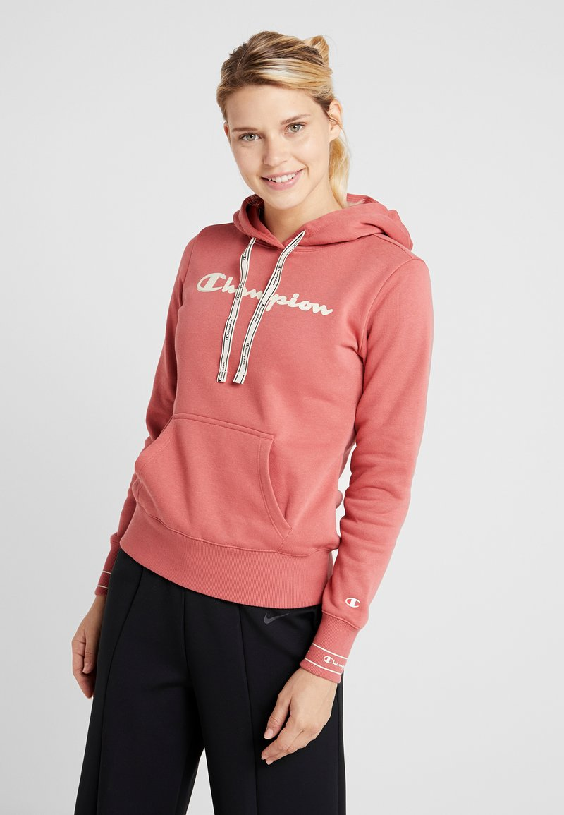 Champion - HOODED  - Hættetrøjer - dark red