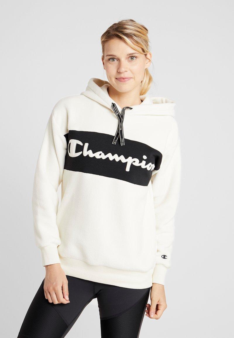 Champion - HOODED - Huppari - off-white