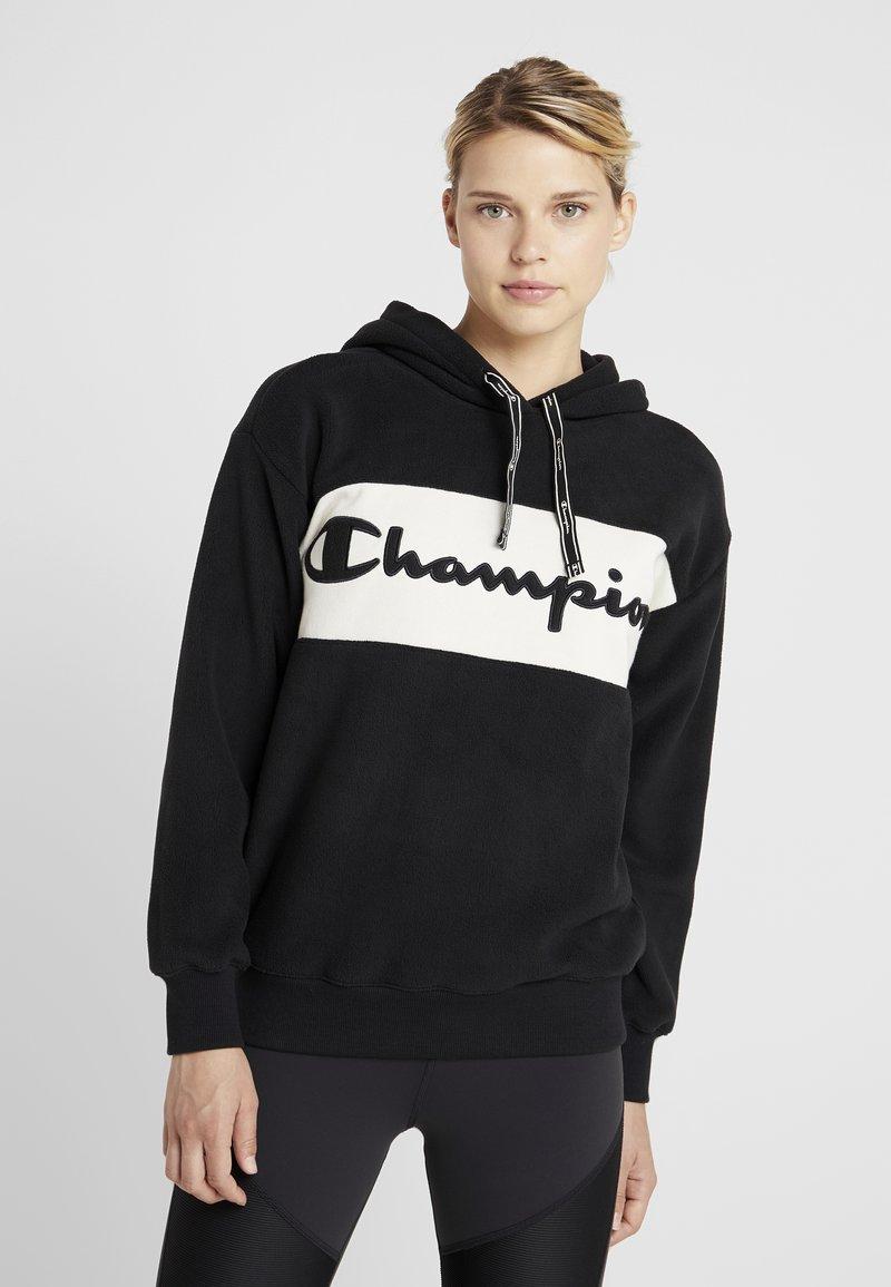 Champion - HOODED - Hættetrøjer - black