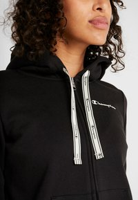 Champion - HOODED FULL ZIP - veste en sweat zippée - black - 4
