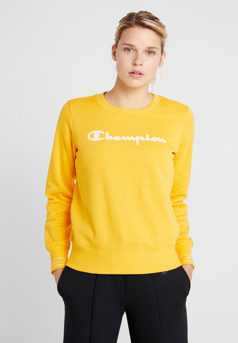 Champion - CREWNECK - Sweatshirt - yellow