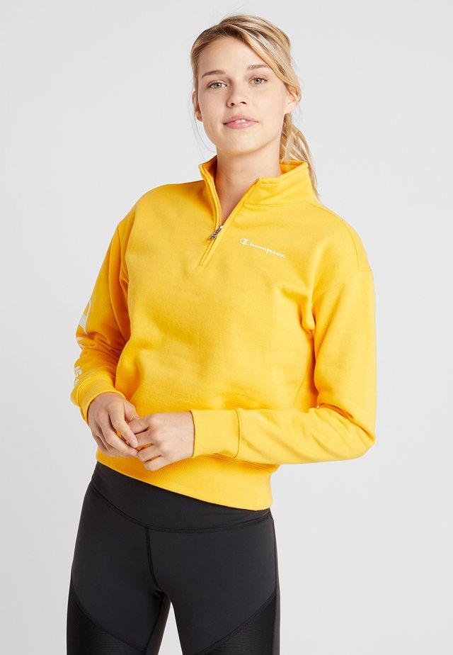 CROP TOP - Sweatshirt - yellow