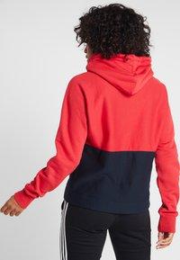 Champion - HALF ZIP - Jersey con capucha - red - 2