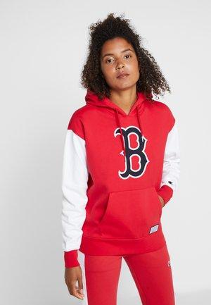 MLB BOSTON RED SOX HOODED  - Klubtrøjer - red/white