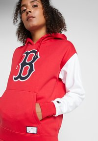 Champion - MLB BOSTON RED SOX HOODED  - Club wear - red/white - 3