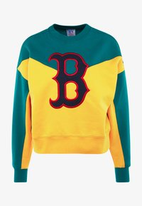 Champion - MLB BOSTON RED SOX CREWNECK - Klubové oblečení - yellow/green - 4