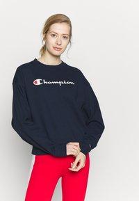 Champion - CREWNECK - Sweatshirt - dark blue - 0