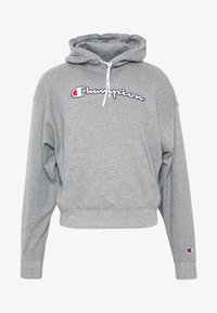 Champion - HOODED - Kapuzenpullover - grey melange - 4