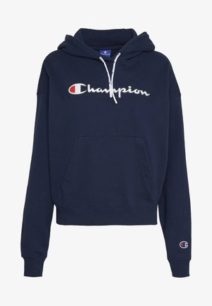 HOODED - Felpa con cappuccio - dark blue
