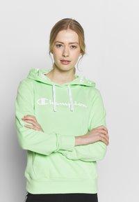 Champion - HOODED - Hoodie - light green - 0