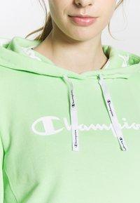 Champion - HOODED - Hoodie - light green - 4