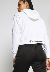 Champion - HOODED - Luvtröja - white
