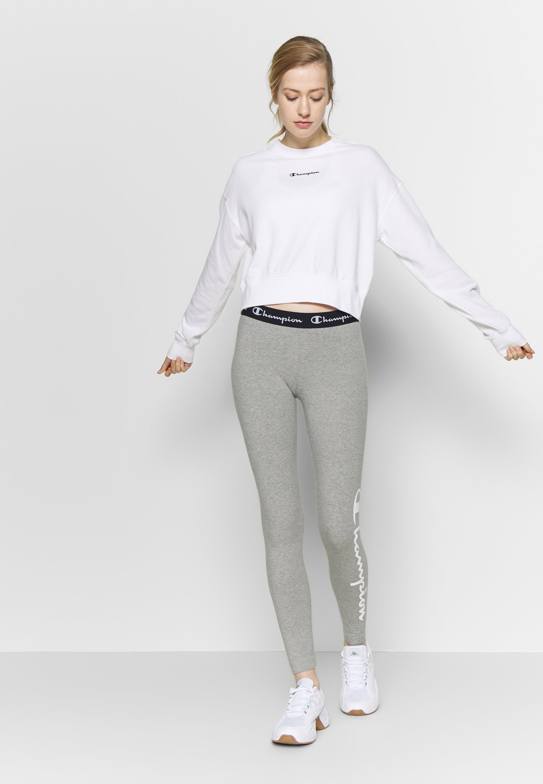 Champion CREWNECK - Bluza - white