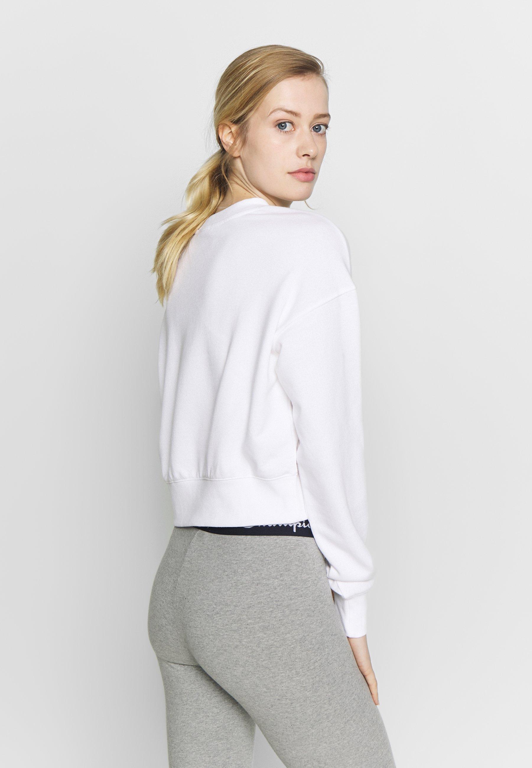 Champion Crewneck - Sweater White 5fvIlmaw