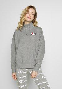 Champion - HIGH NECK - Sweatshirt - grey - 0