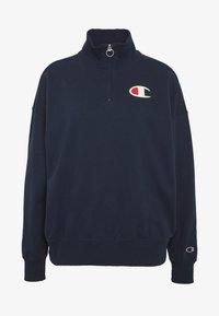 Champion - HIGH NECK - Sweatshirt - dark-blue denim - 4