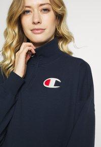 Champion - HIGH NECK - Sweatshirt - dark-blue denim - 3