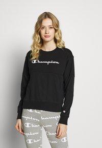 Champion - CREWNECK  - Mikina - black - 0
