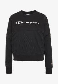 Champion - CREWNECK  - Mikina - black - 4