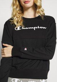 Champion - CREWNECK  - Mikina - black - 5