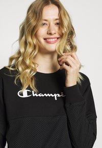 Champion - CREWNECK  - Mikina - black - 3