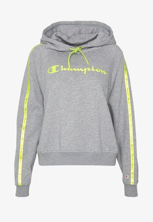 HOODED - Bluza z kapturem - dark grey