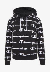 Champion - HOODED - Hoodie - black - 4