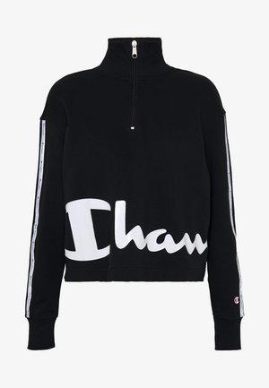 HALF ZIP - Sweatshirt - black