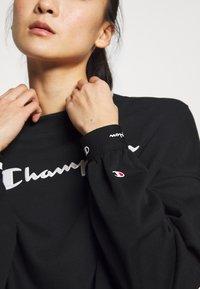 Champion - HIGH NECK  - Sweatshirt - black - 3