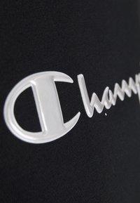 Champion - HIGH NECK  - Sweatshirt - black - 5