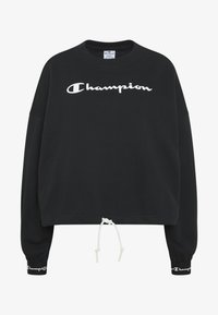 Champion - HIGH NECK  - Sweatshirt - black - 4