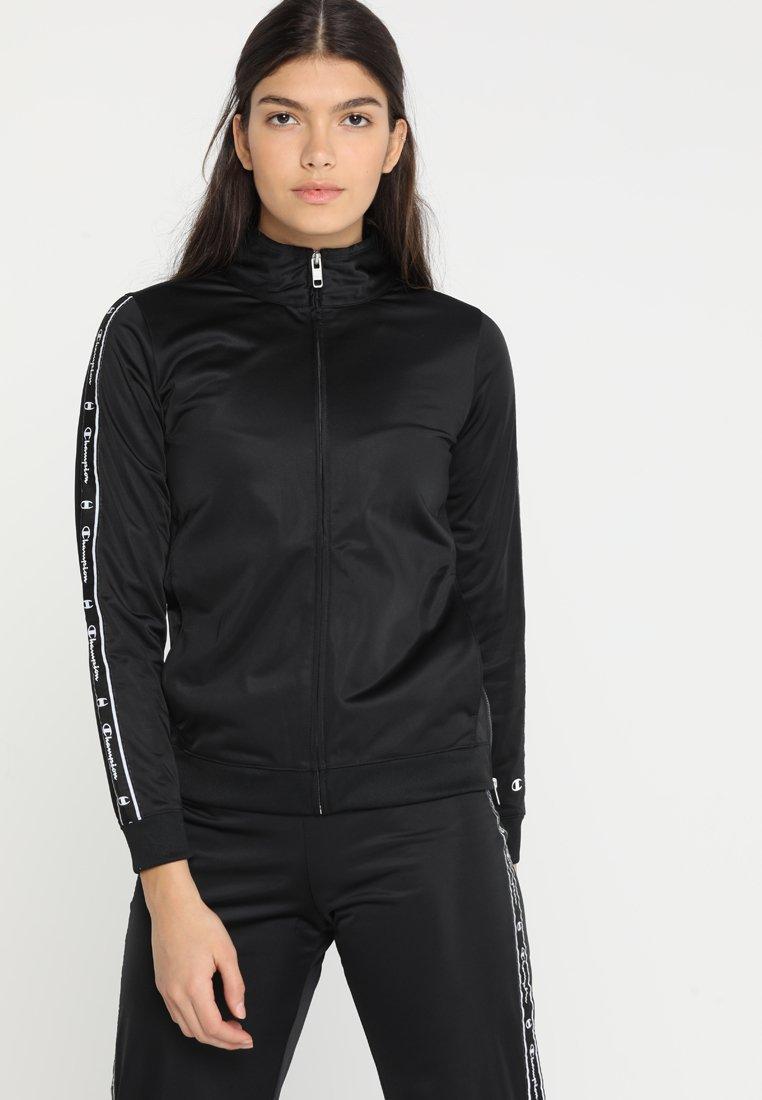 Champion - FULL ZIP SUIT - Trainingsanzug - black