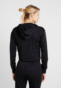 Champion - HOODED FULL ZIP CROP - Survêtement - black - 2