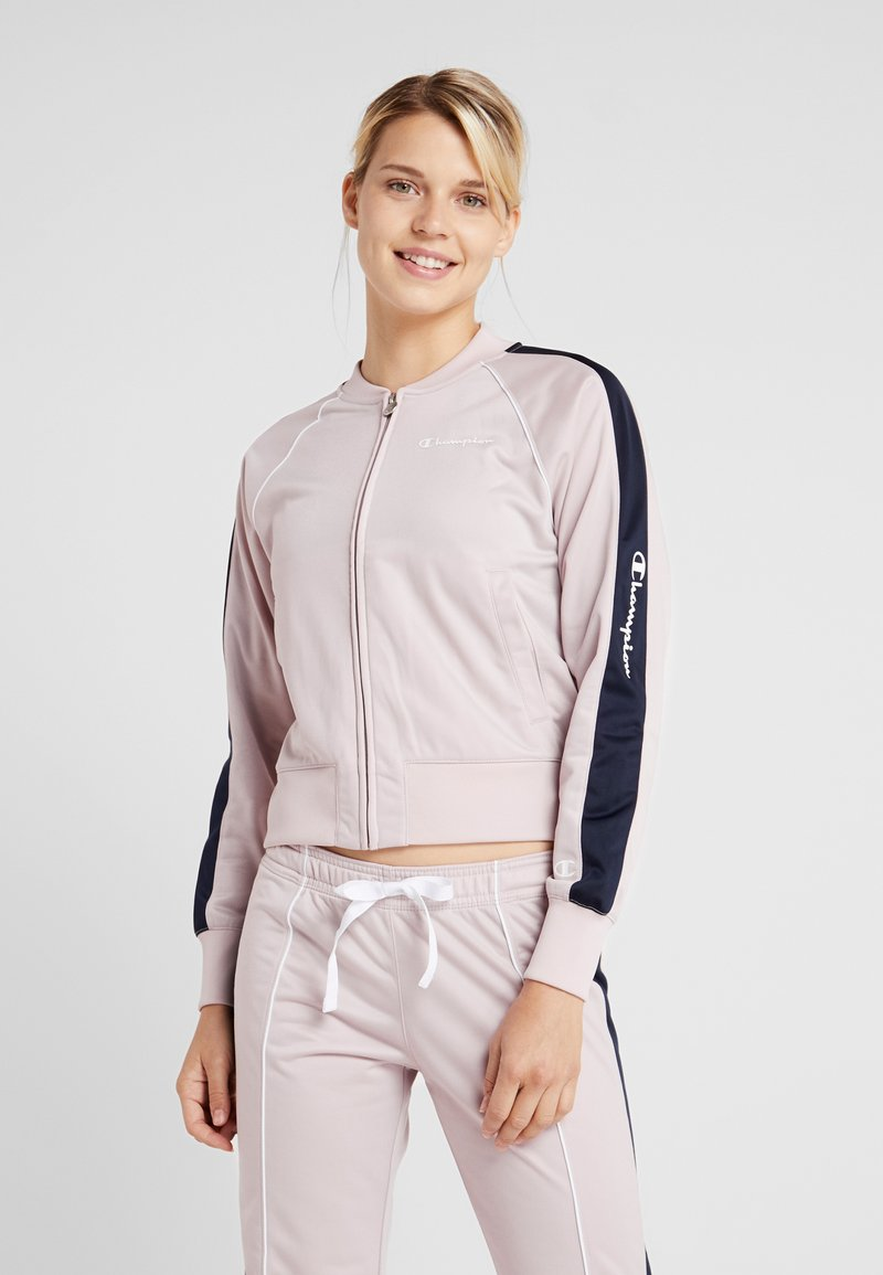 Champion - FULL ZIP SUIT - Trainingsanzug - pink