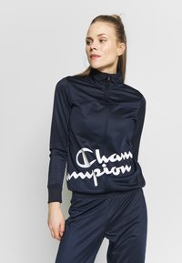 Champion - FULL ZIP SUIT - Tepláková souprava - dark-blue denim - 2