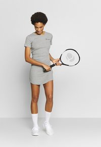 Champion - DRESS - Sports dress - grey melange - 1